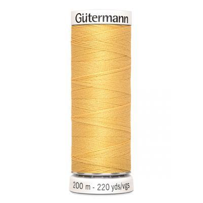Fil à coudre jaune Gütermann 415