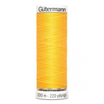Fil à coudre jaune Gütermann 417