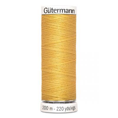 Fil à coudre jaune Gütermann 488