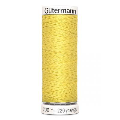 Fil à coudre jaune Gütermann 580