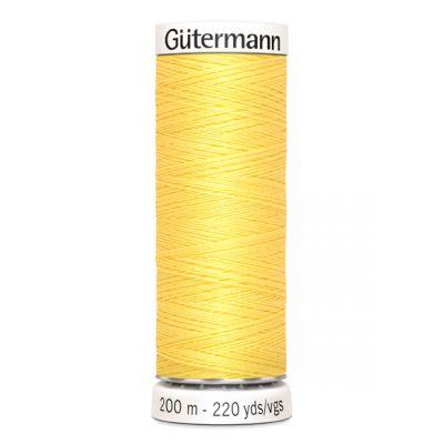 Fil à coudre jaune Gütermann 852