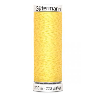 Gele naaigaren Gütermann 852