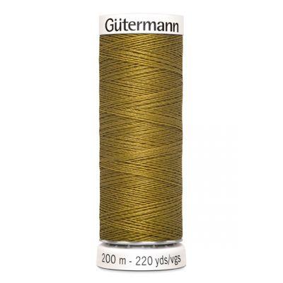 Gele naaigaren Gütermann 886