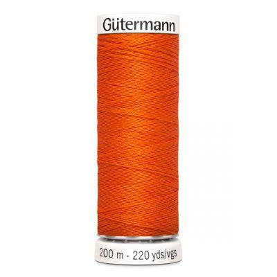 Fil à coudre orange Gütermann  351