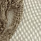 Taupe polyester net