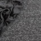 fijn Jersey stof in viscose effen zwart