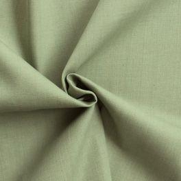 Tissu jeans 100% coton vert