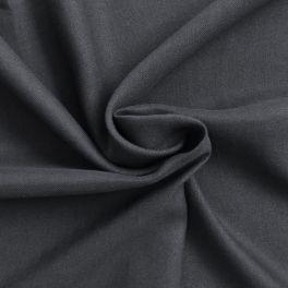 Zwarte linnen stof
