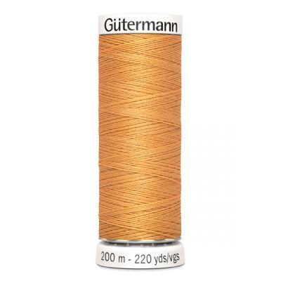 Fil à coudre orange Gütermann 300
