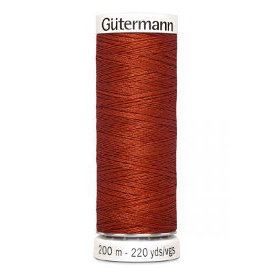 Fil à coudre orange Gütermann 837