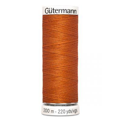 Fil à coudre orange Gütermann 982