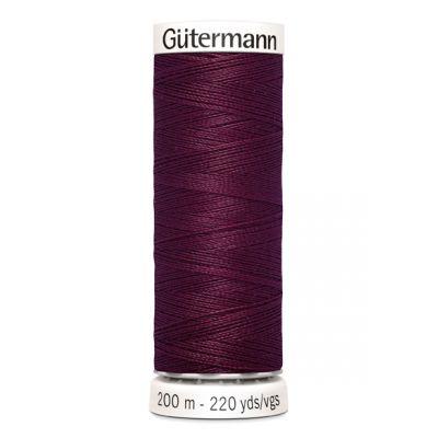 Fil à coudre rouge Gütermann 108
