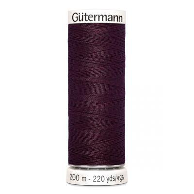 Fil à coudre rouge Gütermann 130