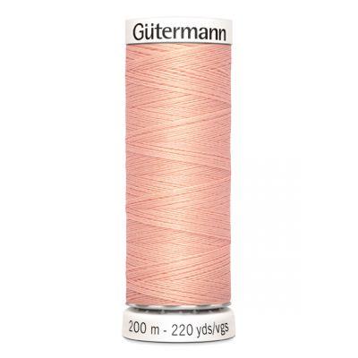Fil à coudre rose Gütermann 165