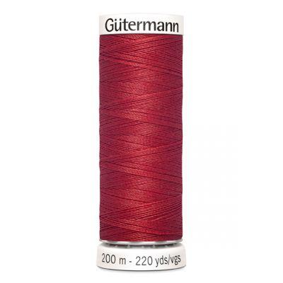 Fil à coudre rouge Gütermann 26