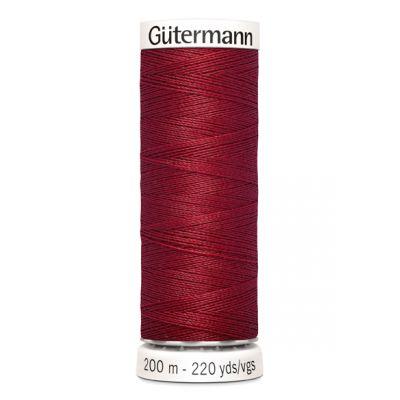 Fil à coudre rouge Gütermann 367