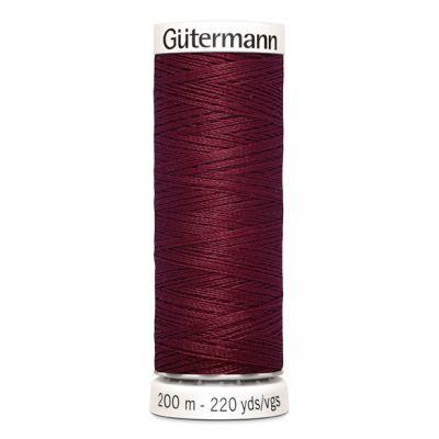 Fil à coudre rouge Gütermann 368