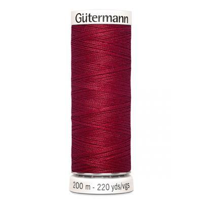 Fil à coudre rouge Gütermann 384