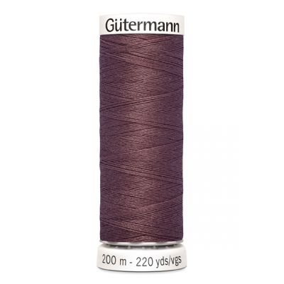 Fil à coudre rouge Gütermann 429