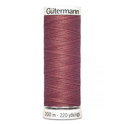 Fil à coudre rose Gütermann 474