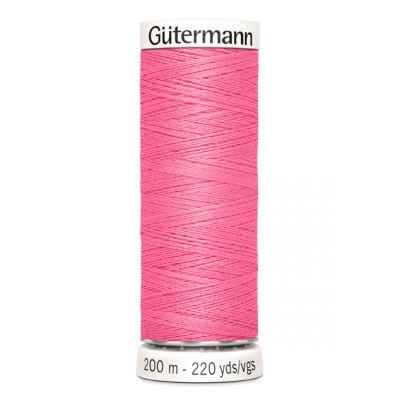Fil à coudre rose Gütermann 728