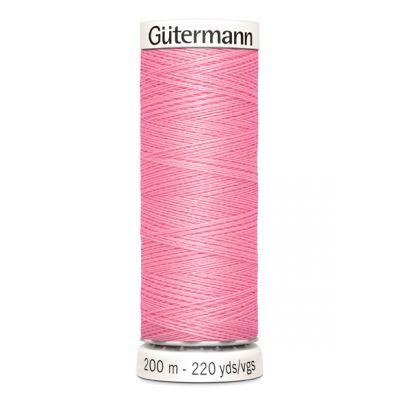 Fil à coudre rose Gütermann 758