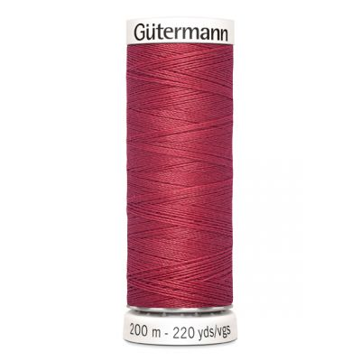 Fil à coudre rouge Gütermann 82