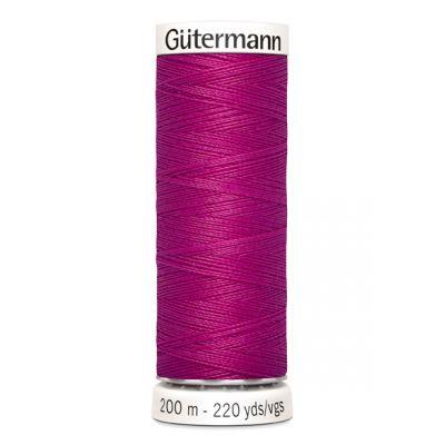 Fil à coudre rose Gütermann 877