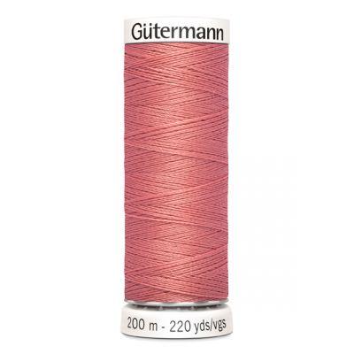 Fil à coudre rose Gütermann 80