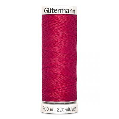 Fil à coudre rouge Gütermann 909