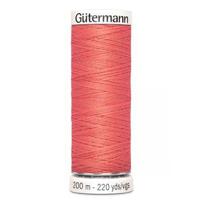 Fil à coudre rose Gütermann 896