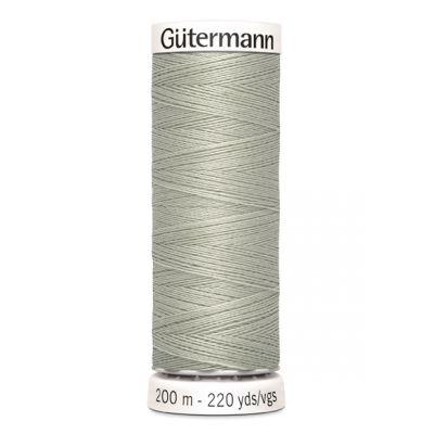 Fil à coudre gris Gütermann 633