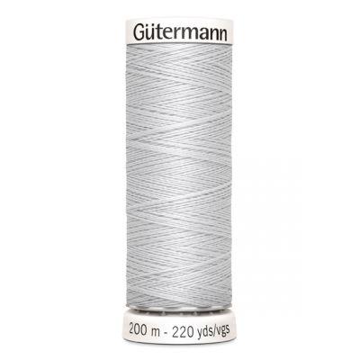 Fil à coudre gris Gütermann 8