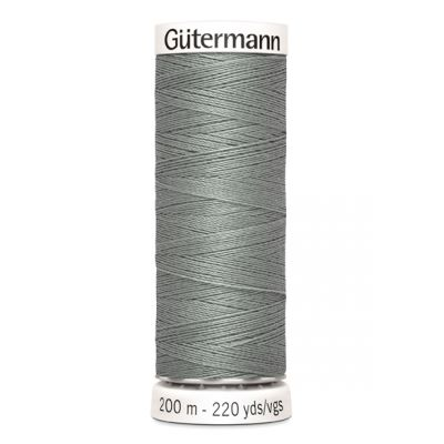 Fil à coudre gris Gütermann 634