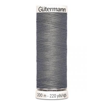 Fil à coudre gris Gütermann 496