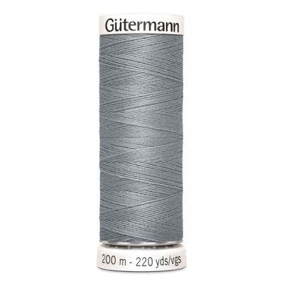 Grijs naaigaren Gütermann 40