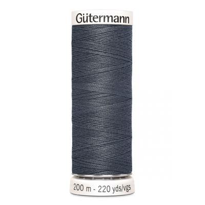 Fil à coudre gris Gütermann 93
