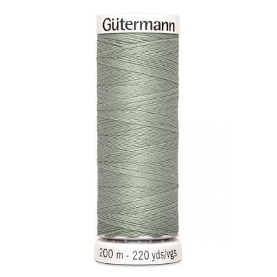 Fil à coudre gris Gütermann 261