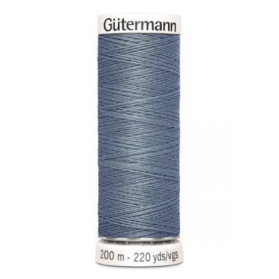 Fil à coudre gris Gütermann 788