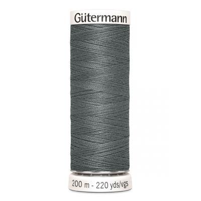 Fil à coudre gris Gütermann 701