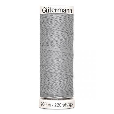 Fil à coudre gris Gütermann 38