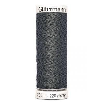 Fil à coudre gris Gütermann 702