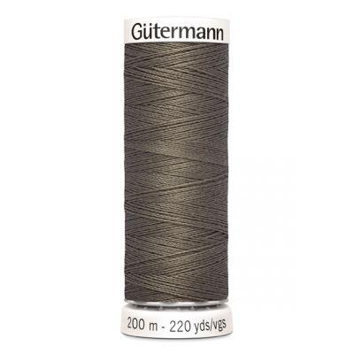 Fil à coudre gris Gütermann 727