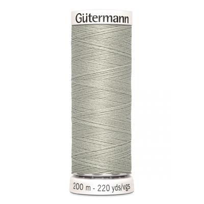 Fil à coudre gris Gütermann 854