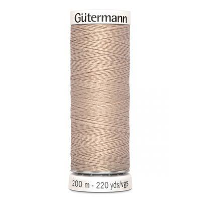 Fil à coudre beige Gütermann 121