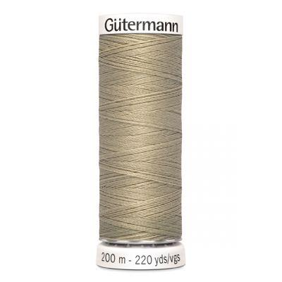 Fil à coudre beige Gütermann  131