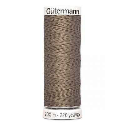 Fil à coudre brun Gütermann 160