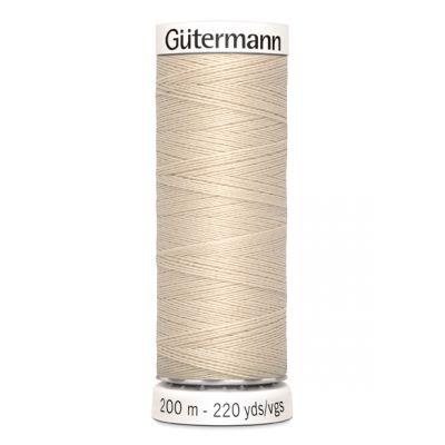 Fil à coudre beige Gütermann 169