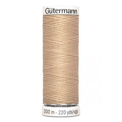 Fil à coudre beige Gütermann 170