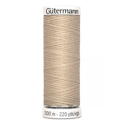 Beige naaigaren Gütermann 198